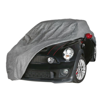 Sealey Premier All Seasons Car Cover 3-Layer - Small