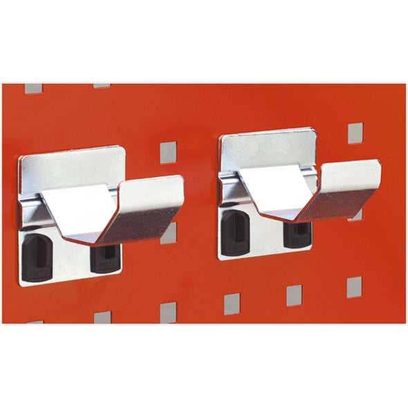 Sealey Pipe Bracket Ø60mm Pack of 2