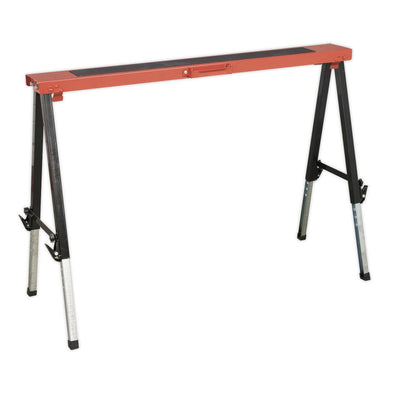 Sealey Fold Down Trestle with Adjustable Legs 150kg Capacity