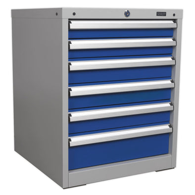 Sealey Premier Industrial Cabinet Industrial 6 Drawer