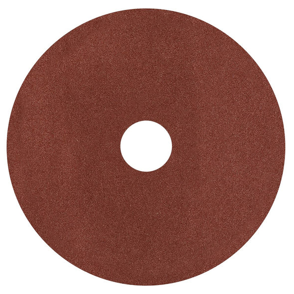 Worksafe by Sealey Fibre Backed Disc Ø125mm - 50Grit Pack of 25