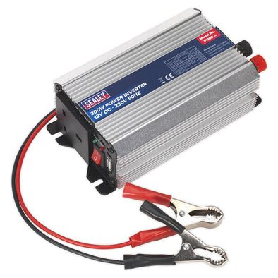 Sealey Power Inverter 300W 12V DC - 230V 50Hz