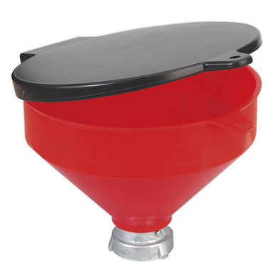 Sealey Solvent Safety Funnel with Flip Top