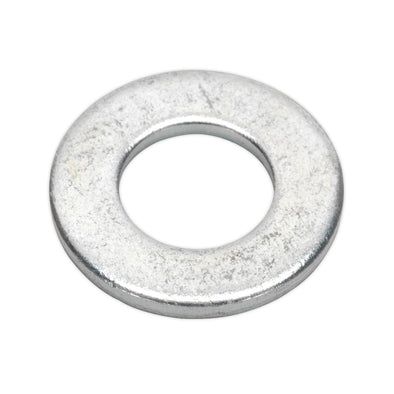 "Sealey Flat Washer 1/4"" x 9/16"" Table 3 Imperial Zinc Pack of 100"