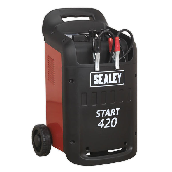 Sealey Starter/Charger 420/60Amp 12/24V 230V