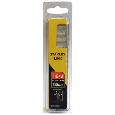 Stanley 1000 Piece Brad Nails 15mm