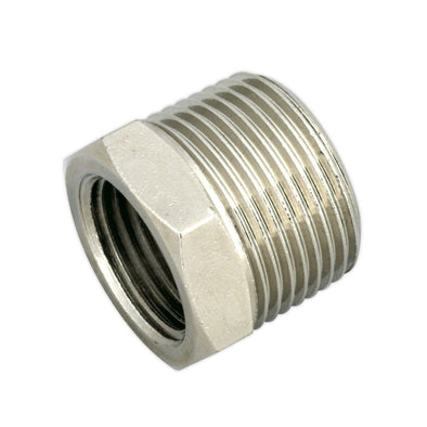 "Sealey Adaptor 3/4""BSPT Male to 1/2""BSP Female"