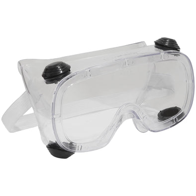 Worksafe by Sealey Standard Goggles Indirect Vent Impact Resistant