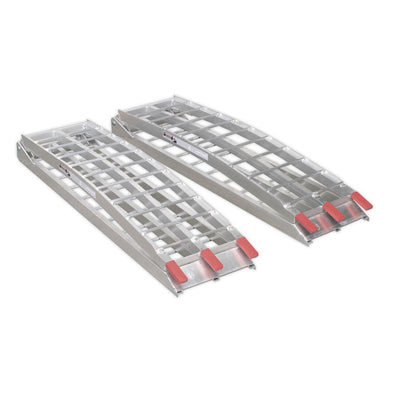 Sealey Aluminium Loading Ramps 680kg Capacity per Pair