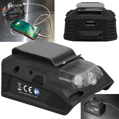 Sealey USB Charge Port for SV20 CP20V Series Cordless Power Tools