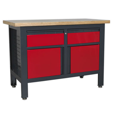 Sealey Workstation with 2 Drawers & 2 Cupboards