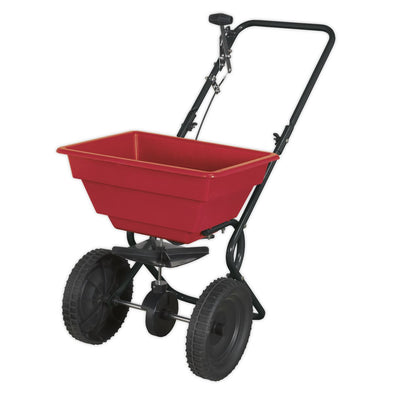 Sealey Broadcast Spreader 27kg Walk Behind Lightweight