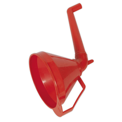 Sealey Funnel with Fixed Offset Spout & Filter Medium Ø160mm