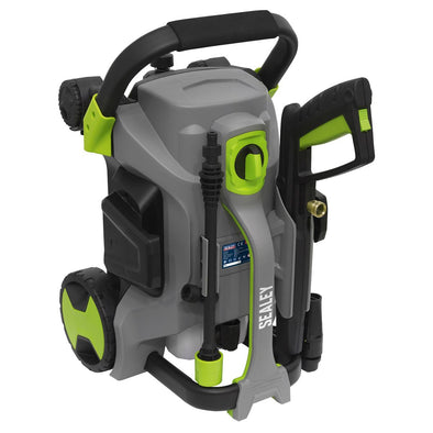 Sealey Pull Along Pressure Washer 140bar with TSS 1800W