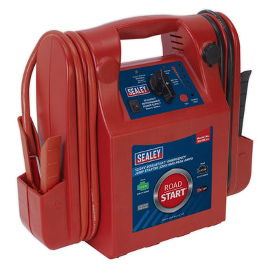 Sealey RoadStart® Emergency Jump Starter 12/24V 3200/1600 Peak Amps