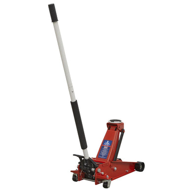Sealey Trolley Jack 3tonne with Foot Pedal