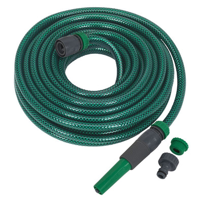 Sealey Water Hose 15m with Fittings