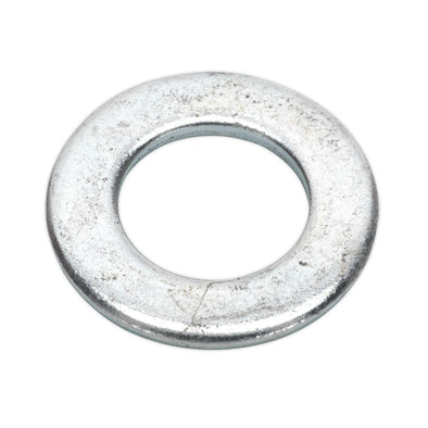 Sealey Flat Washer M20 x 37mm Form A Zinc Pack of 50