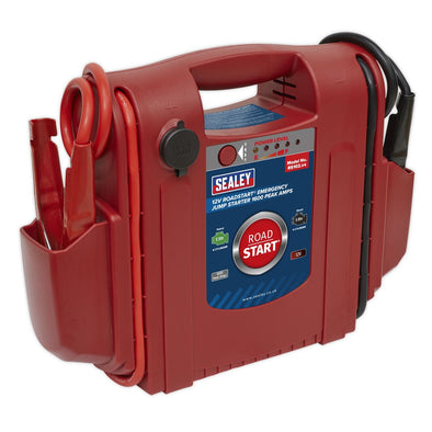 Sealey RoadStart® Emergency Jump Starter 12V 1600 Peak Amps