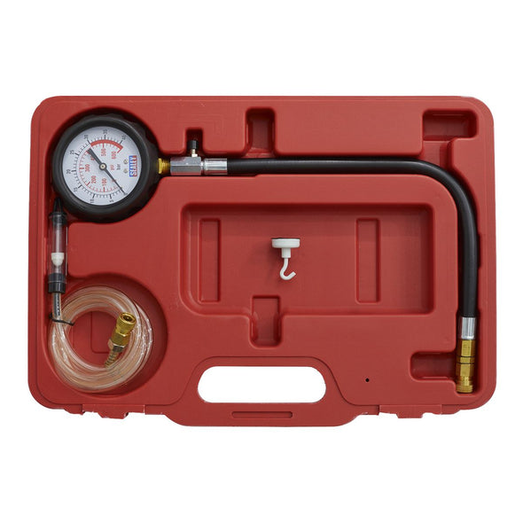 Sealey Diesel Compression Gauge, Hose & TDC Base Kit