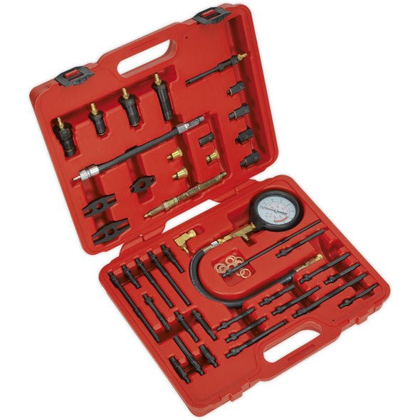 Sealey Petrol and Diesel Master Compression Test Kit