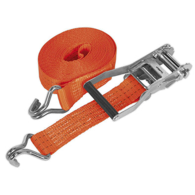Sealey Ratchet Tie Down 50mm x 8m Polyester Webbing 3000kg Load Test