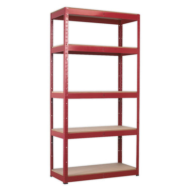 Sealey Racking Unit with 5 Shelves 350kg Capacity Per Level