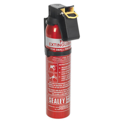 Sealey Fire Extinguisher 0.6kg Dry Powder - Disposable