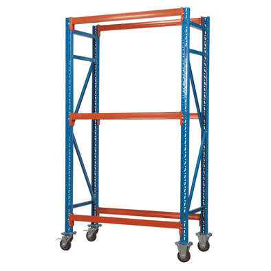 Sealey Two Level Mobile Tyre Rack 200kg Capacity Per Level