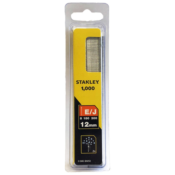 Stanley 1000 Piece Brad Nails 12mm