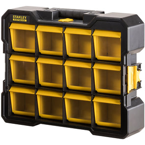 Stanley FatMax Flip Bin Organiser Tool Accessory Storage Box Carry Case