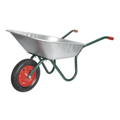 Sealey Wheelbarrow 65L Galvanized