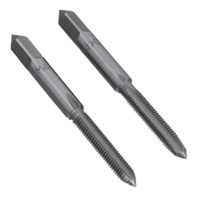 Sealey Tap Set 2pc (Taper & Plug) M4 x 0.7mm