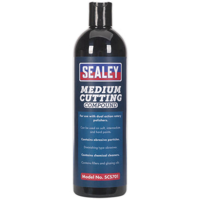 Sealey Cutting Compound Medium 500ml Polishing