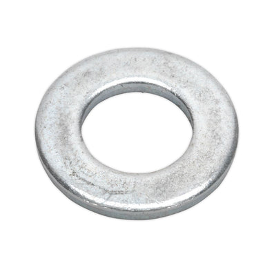 Sealey Flat Washer M12 x 24mm Form A Zinc Pack of 100