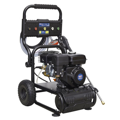 Sealey Pressure Washer 220bar 540L/hr Self-Priming 6.5hp Petrol
