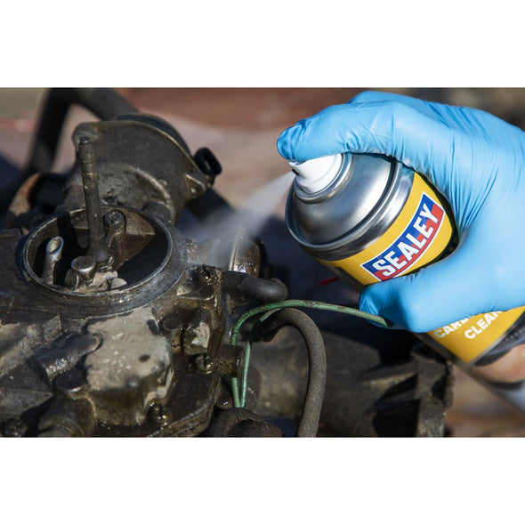 Sealey Throttle Body & Carburettor Cleaner 500ml
