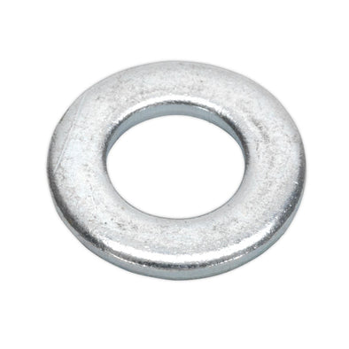 Sealey Flat Washer M10 x 21mm Form A Zinc Pack of 100