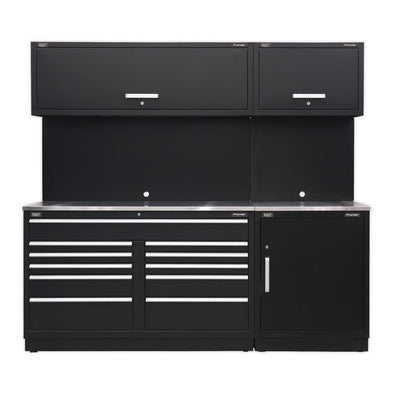Sealey Premier Modular Storage System Combo - Stainless Steel Worktop