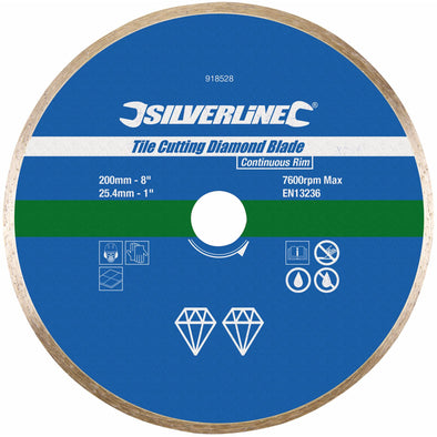 Silverline Tile Cutting Diamond Disc
