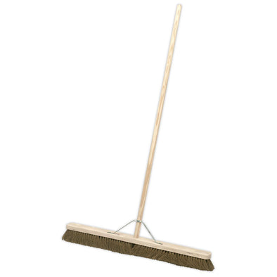 "Sealey Broom 36""(900mm) Soft Bristle"