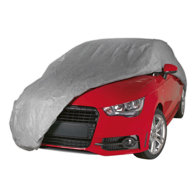 Sealey Premier All Seasons Car Cover 3-Layer - Medium