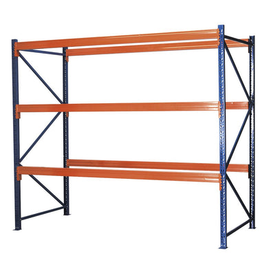 Sealey Heavy-Duty Racking Unit with 3 Beam Sets 1000kg Capacity Per Level