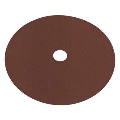 Worksafe by Sealey Fibre Backed Disc Ø175mm - 100Grit Pack of 25