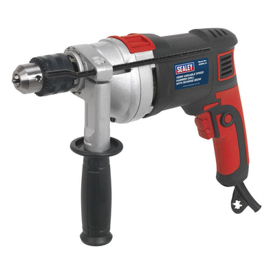 Sealey Hammer Drill Ø13mm Variable Speed with Reverse 850W/230V