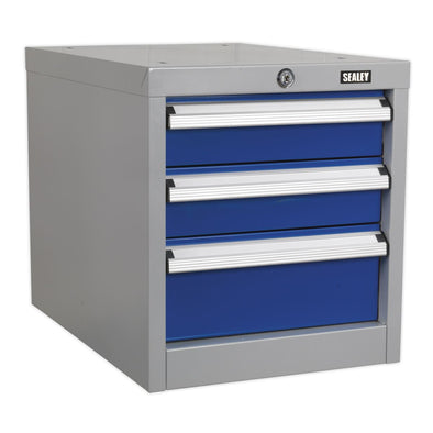 Sealey Premier Industrial Industrial Triple Drawer Unit for API Series Workbenches