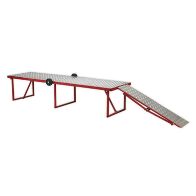 Sealey Motorcycle Portable Folding Workbench 360kg Capacity