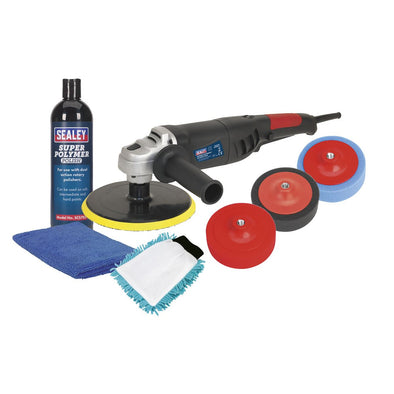 Sealey Ø180mm Pro Electric Polisher Kit 1100W/230V