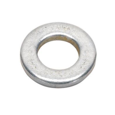 Sealey Flat Washer M6 x 12mm Form A Zinc Pack of 100