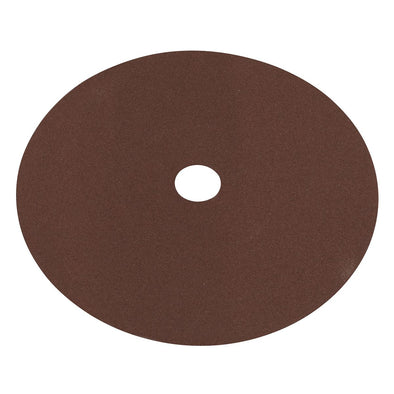 Worksafe by Sealey Fibre Backed Disc Ø175mm - 120Grit Pack of 25